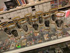 1976 PITTSBURGH STEELERS ARBY'S DRINKING 10 GLASS SET BRADSHAW FRANCO LAMBERT ++