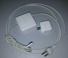 APPLE A1330 A1401 60W 12W WATT OEM GENUINE MACBOOK MAGSAFE USB POWER ADAPTER