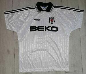 Besiktas #4 1997/1998 *Match Issue* Home Shirt Adidas Trikot Jersey