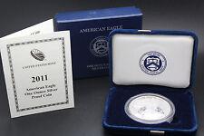 2011 W American Eagle 1 oz Silver Proof Coin U.S. Mint