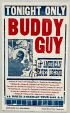 Buddy Guy Concert Poster 2001 Tour Autographed