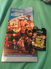 Disney 2018 Pixar Toy Story Land - Woody Jessie Alien Rex Wheezy Pin w/ Map