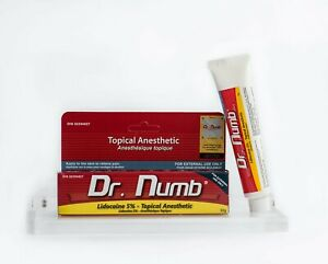 Dr Numb Topical Anesthetic Cream 30g (**AUTHORIZED DISTRIBUTOR**)