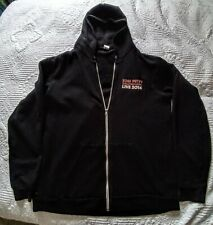 TOM PETTY AND THE HEARTBREAKERS 2014 Concert Tour Hoodie Jacket Size 2XL