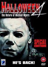 Halloween 4 The Return Of Michael Myers DVD Donald Pleasence NEW UK R2 DVD