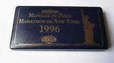 Coffret 4 pin's - USCM (Monnaie de Paris - Marathon de New York 1996)