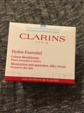 Clarins Hydra Essentiel Moisturizes Quenches Silky Cream 50ml NEW £36