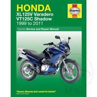 Honda XL 125 V Varadero 2004 Haynes Service Repair Manual 4899
