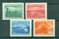 Yugoslavia 1949 ☀ MI 583-586 Trains set 4v  ☀ MNH**