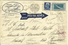 Italy BALBOA(pilot-signed)TRANS-OCEAN RECORD FLIGHT AAMC#1125-Mu#254