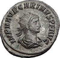 Carinus Carus son Numerian brother 283AD Ancient Roman Coin i64509