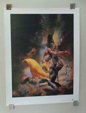 Richard Corben 1993 Tundra comic book fantasy art girl poster print 1:Nude woman