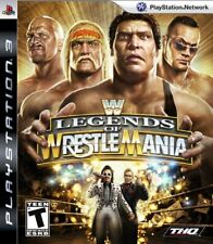 PS3 WWE Legends of WrestleMania Japan Import Japanese Video Game Sony