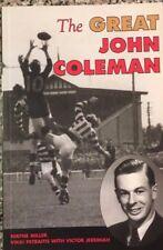 THE GREAT JOHN COLEMAN – ESSENDON LEGEND