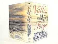 Valley Forge : George Washington and the Crucible of Victory 2 VG+ 'FLAT SIGNED'