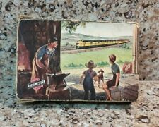 Vintage Full Deck Playing Cards Chicago Northwestern System Railroad Train