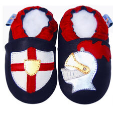 Free Shipping Littleoneshoes Soft Sole Leather Baby Infant Knight Shoes 24-30M