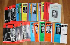 Livres de France, Revue Littéraire Mensuelle ~ Hachette ~ 1956 - 1967 ~ 96 exx.