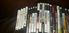 Lot of Empty Video Games Cases - PS2 3DS PSP XBOX AND XBOX 360 WII GAMECUBE