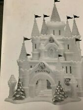 Dept 56 Snow Carnival Ice Castle No Flags