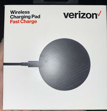 Verizon Fast Charger Wireless Charging Pad for iPhone 8 Or Later