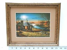 Terry Redlin PURE CONTENTMENT framed 8x10