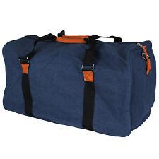 53 L Reisetasche Canvas Tasche Sport Sporttasche Koffer Bag Reise Blau XL NEU