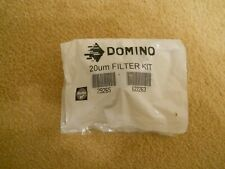 DOMINO INK JET PRINTER FILTER - 29265 - 20 / UM - MICRON B/NEW, SEALED IN PACKET