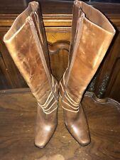 Steve Madden Holsteer Brown Women High Heel Boots