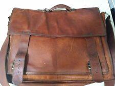 Passion Leather Briefcase Messenger Shoulder Laptop Handbag Business Satchel 18