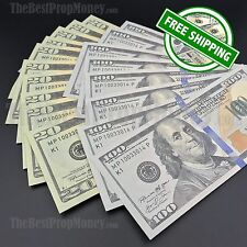 THE BEST PROP MONEY - $20/$100 Mix Bills - $1,000 - Fake Prop Play Movie Money