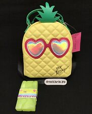 Betsey Johnson Pineapple Insulated Lunch Tote Bag Regular
