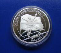 Uganda ENGLAND Hall of Fame of FOOTBALL Gary LINEKER silver 2000 shillings 2006