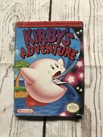 Kirby's Adventure - NES - Nintendo Entertainment System BOX ONLY 1993 No Game