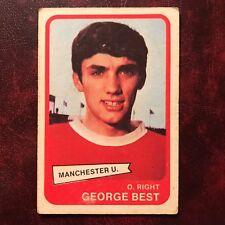 1968/69 A&BC Footballer Set GEORGE BEST #44 MANCHESTER UNITED - VG
