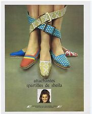 PUBLICITE ADVERTISING 104 1969 Attachantes spartilles de SHEILA