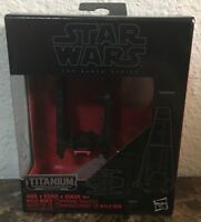 Star Wars Titanium Series Model #03 Kylo Ren's Shuttle & Stand In Original Box