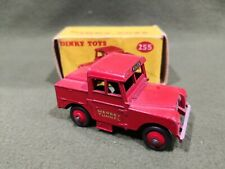 Dinky Toys 255 Land Rover Mersey Tunnel Police Car scala 1/43