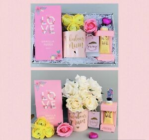 LADIES MUM TEA PAMPER HAMPER GIFT SET BOX FOR HER BIRTHDAY MUMMY THANK YOU WIFE