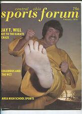 Sports Forum Feb 1976 Rare Jay T. Will  Key To The Karate Craze        MBX102