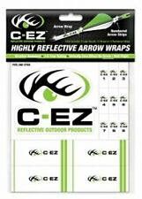 C-EZ Green Highly Reflective 12 Arrow Wraps, 12 Numbered Strips & 2 Logo Decals
