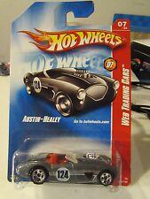 Hot Wheels Austin-Healey Web Trading Cars Silver