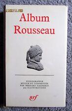 Album Rousseau La Pléiade