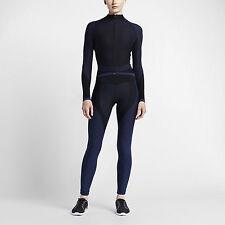 Nike Zoned Sculpt Women's Training Tights Black Obsidian Lab 810965-010 sz L
