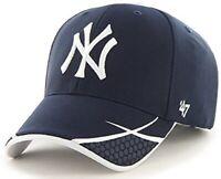 New York Yankees MLB '47 Navy Blue Sensei Performance Hat Cap Adult Adjustable