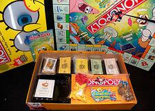 Parker Brothers 2005 Monopoly SpongeBob Squarepants Edition 100% Complete