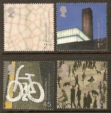 GB MNH STAMP SET 2000 Art and Craft Millennium SG 2142-2145 UMM