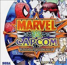 Marvel vs. Capcom: Clash of Super Heroes Sega Dreamcast, Sega Dreamcast Video Ga