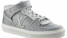 Auth Louis Vuitton Acapulco Damier White Gray Sneakers LV 12 US 13 EU 46