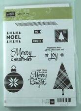 Stampin' Up! stamp set: red rubber clear mount - Lots of Joy